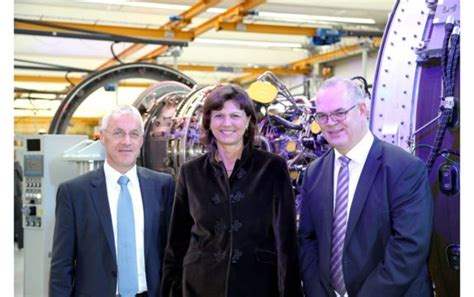 mtu aero engines inaugurates new assembly line for the pw1100g jm