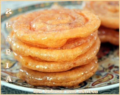 recette cuisine orientale zlabia patisserie orientale du ramadan recette facile et