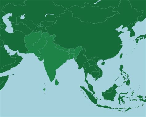 south asia countries map quiz game