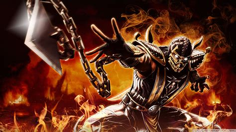 Car Wallpapers Hd 4k Scorpion Mortal Kombat by Scorpion Mortal Kombat Wallpaper Wallpapersafari