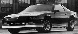 1986 Camaro Statistics  Facts  Decoding  Figures