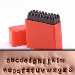 metal stamping tools economy block lowercase letter stamp With metal stamping letter sizes