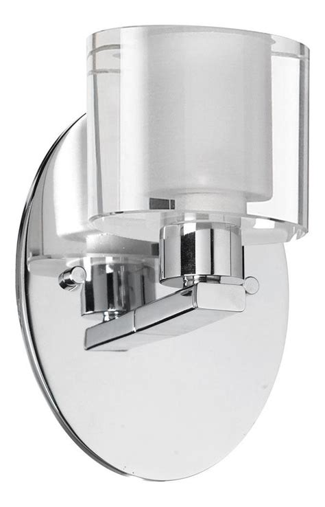Bathroom Sconces Chrome by Dainolite Polished Chrome 1 Light Ada Compliant Bathroom