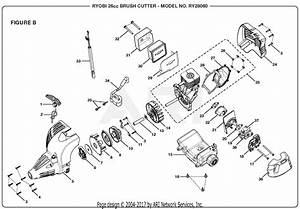 Homelite Ry28060 26cc Brush Cutter Parts Diagram For Figure B