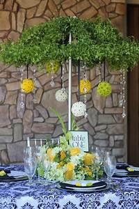 April Showers Centerpiece  U22c6 Wedding  U0026 Party Rentals San Diego  Ca