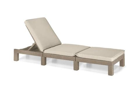 chaise allibert sun loungers loungebeds outdoor chaise longues allibert