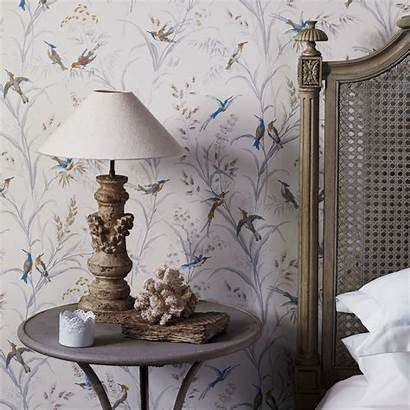 Sanderson Tuileries Wallpapers Fabienne Papel Pintado English