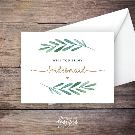bridesmaid cards editable psd ai indesign format