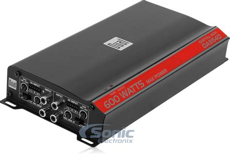 New Dual Da954d 600 Watt 4 Channel Digital Compact Series