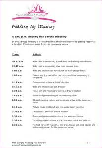 wedding itinerary wedding itinerary template lisamaurodesign