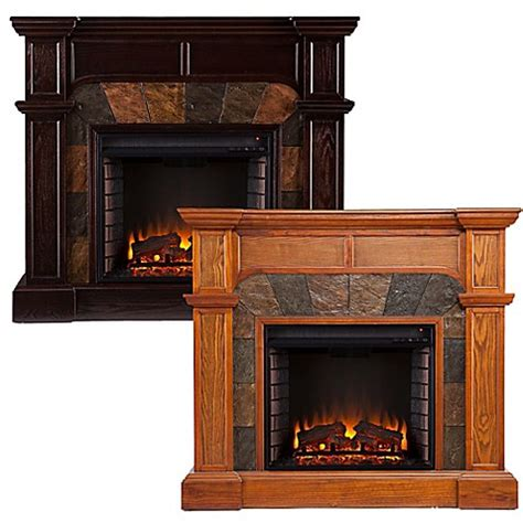 Southern Enterprises Cartwright Electric Fireplace Bed