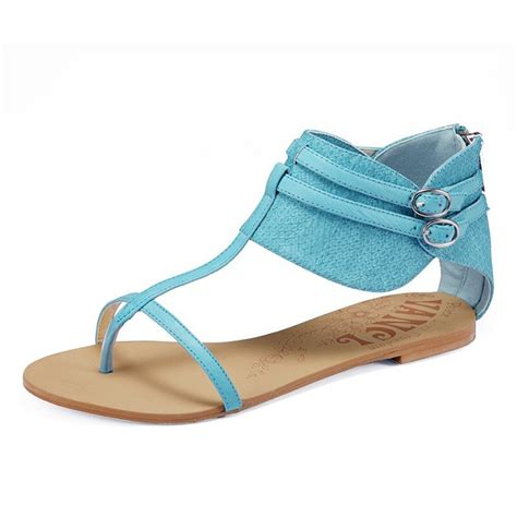 colors women canvas flat sandals roma gladiator buckles