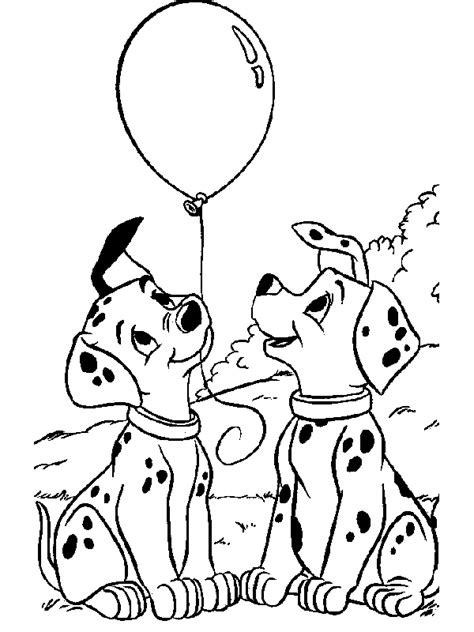 dalmatians coloring pages  gift ideas blog