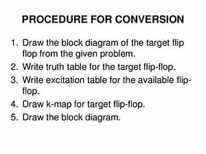 Flip Flop Conversions