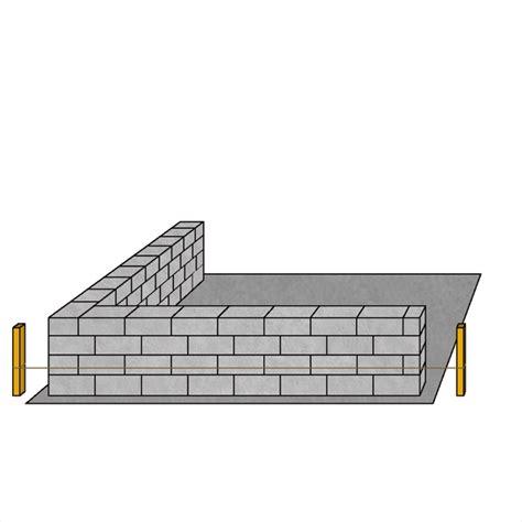 monter un mur en parpaings conseil bricolage avec bricopro