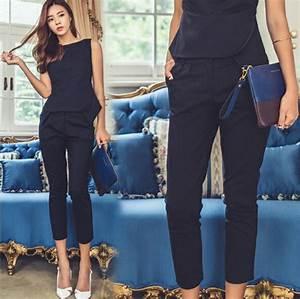 tendance chic pour vous le tailleur pantalon femme With wonderful quelle couleur avec bleu marine 3 quelle couleur de chapeau avec ma robe