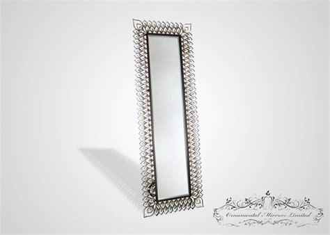 metal full length  standing mirror