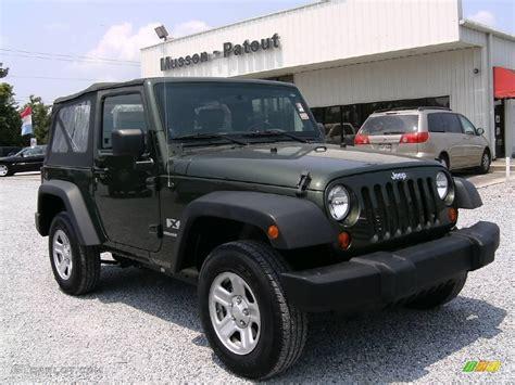 jeep gray color 2008 jeep green metallic jeep wrangler x 4x4 13004912