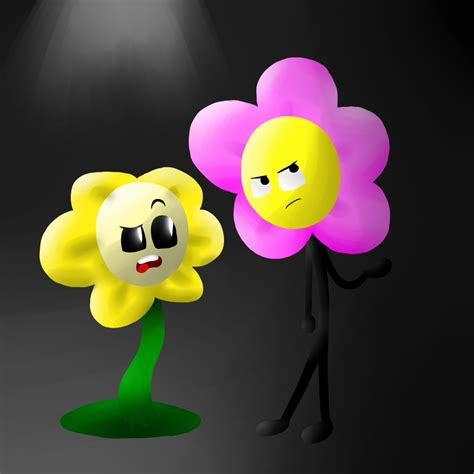 Blume Mit X by Flowey And Flower By X Namelessperson X On Deviantart