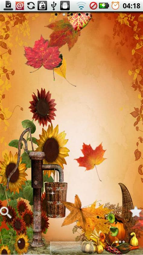 fall leaves thanksgiving wallpaper festival collections