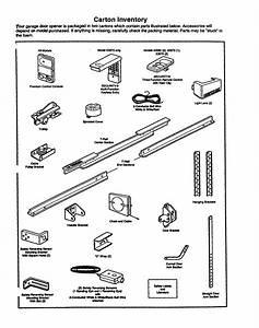 Cartoon Inventory Diagram  U0026 Parts List For Model