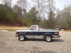 1991 Ford F150 Reg Cab Short Bed 4x4 6cyl 5 Speed Manual