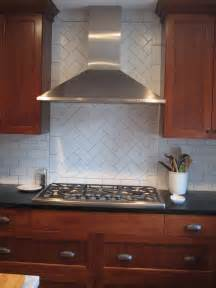 kitchen tile backsplash patterns herringbone pattern in backsplash