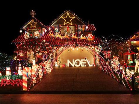 best yard christmas display lights 15 extremely the top outdoor displays brit co