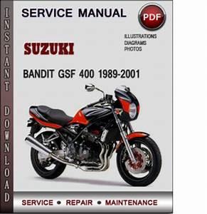 Suzuki Bandit Gsf 400 1989