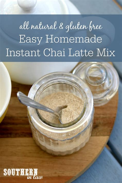 2 making instant iced coffee 3 whipping up an instant latte Southern In Law: Recipe: DIY Chai Latte Mix