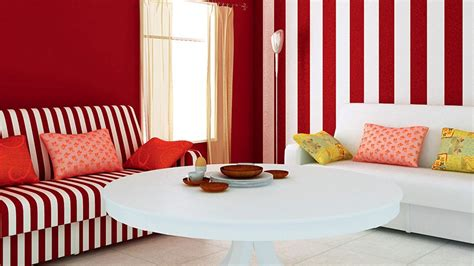 Striped Wallpaper Living Room Ideas by Striped Sofa The Sofa And Pillow Everything