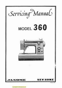 Janome 360 Sewing Machine Service