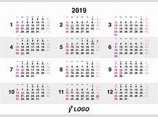 2019 Whole Year Calendar swifteus