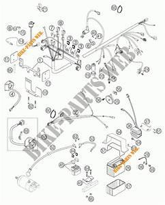 Wiring Harness For Ktm 640 Duke Ii Schwarz 2002   Ktm