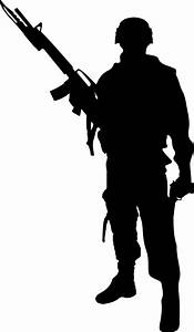 Silhouette of soldier by MieshaNovakov on DeviantArt