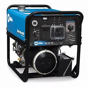 Miller Blue Star 185 Dx Welder  Generator With Gfci