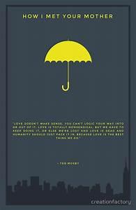 How I Met Your Mother - Yellow Umbrella Art Print   Ted ...