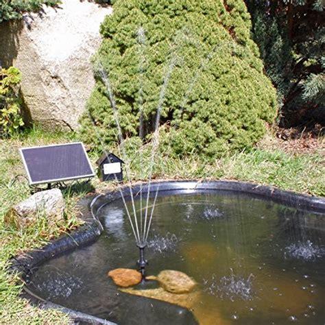 solar teichpumpe mit akku solar teichpumpe mit akku solar pumpe springbrunnen clgarden
