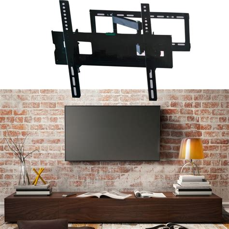 support tv mural pivotant et inclinable capacit 233 45 kg 233 cran lcd