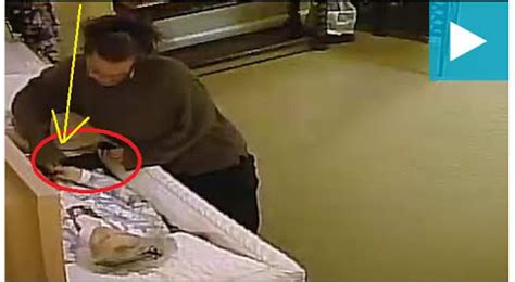 disgraceful video shows woman steal wedding ring