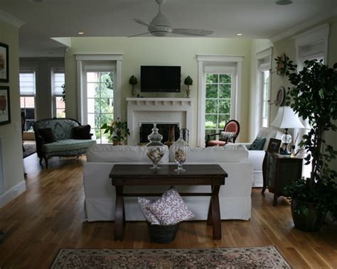 Tropical Living Room British Colonial Design
