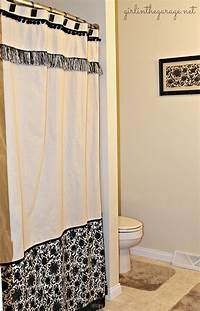 custom shower curtains DIY Custom Shower Curtain | Girl in the Garage®
