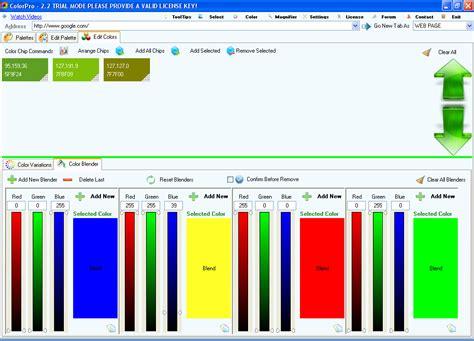 color blender colorpro the ultimate html color picker for professionals
