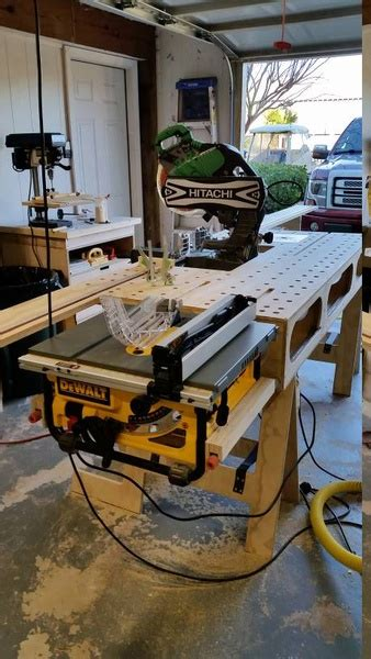 ideal height  tablesaw tabletop  floor