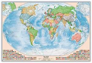 Weltkarte Auf Pinnwand : weltkarte politisch pinnwand creactie ~ Markanthonyermac.com Haus und Dekorationen