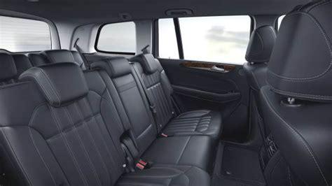 mercedes gls interior medidas mercedes benz gls 2016 maletero e interior