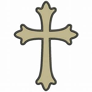 Simple Cross Design - ClipArt Best