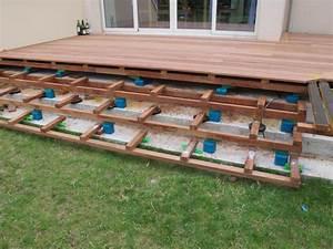 comment poser des lames de terrasse bois les solutions With comment poser des lames de terrasse