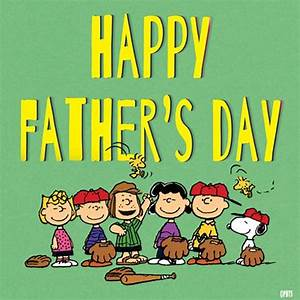 Happy Father's Day! | The Peanuts Gang | Pinterest | Happy ...