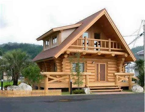 4 Homes With Design Focused On Beautiful Wood Elements by Beautiful Simple Wood House And Log House Design Larry
